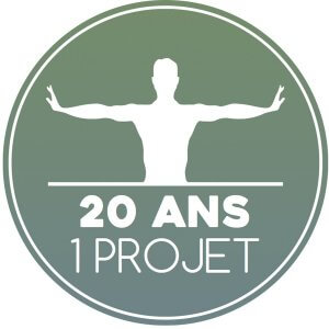 logo 20 ans 1 projet
