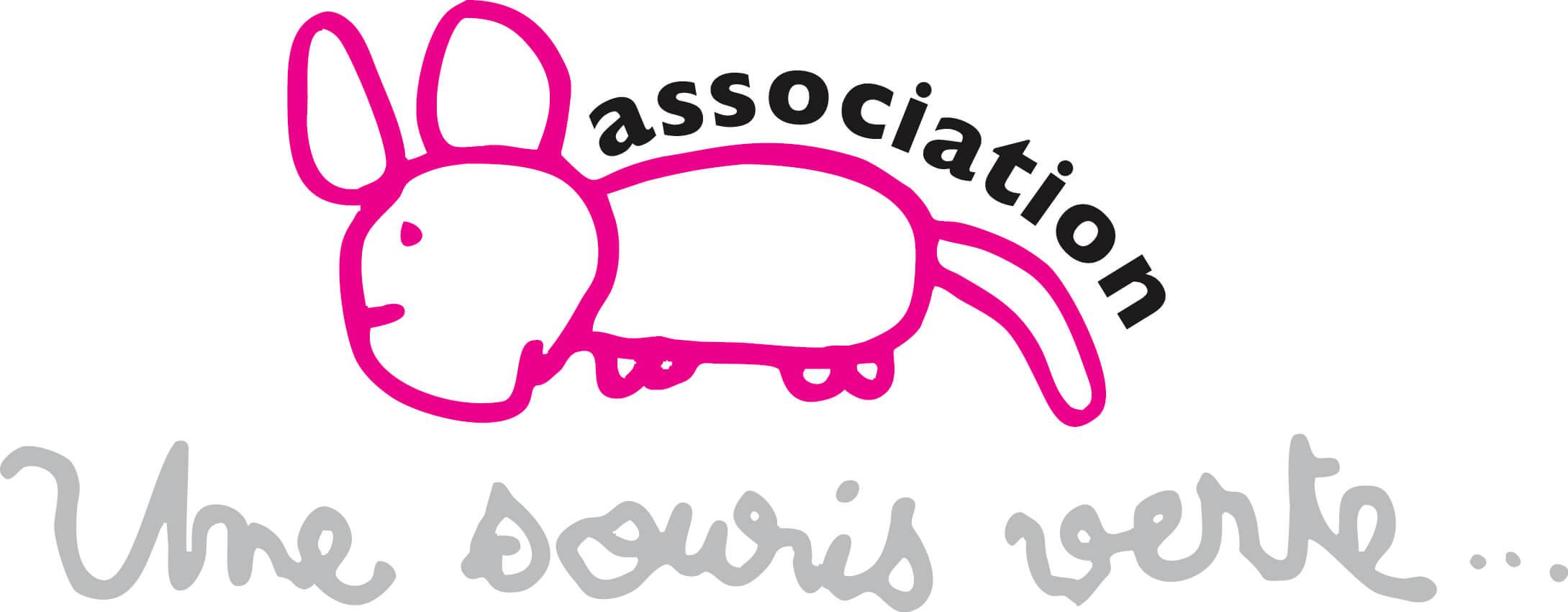 Logo association Une souris verte